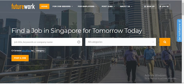 job site in singapore for foreigners futurework