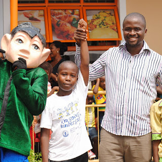 Arise Afrika Boss Facilitates with Children On Children's Day 1