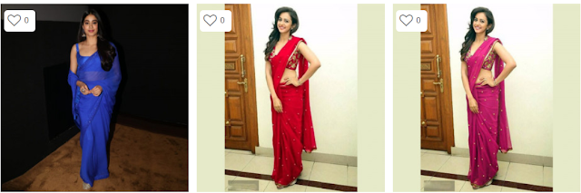 Top 5 Online Sarees Inspired By Celeb Looks