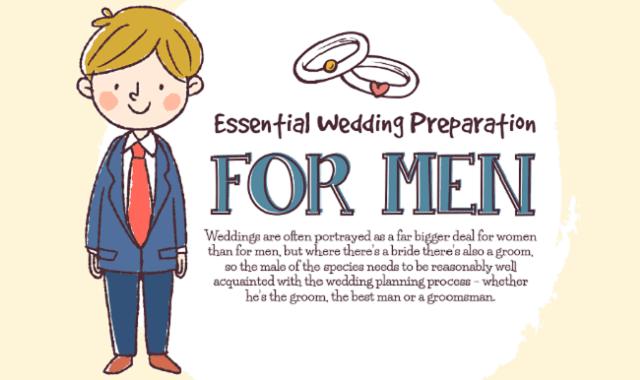 Essential Wedding Preparation for Men