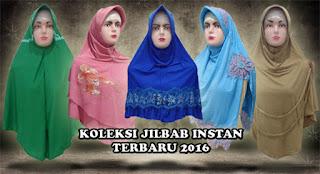 Jilbab instan murah model terbaru