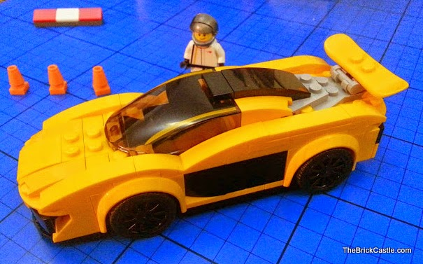 LEGO Speed Champions McLaren P1 set 75909 racing driver and vehicle review