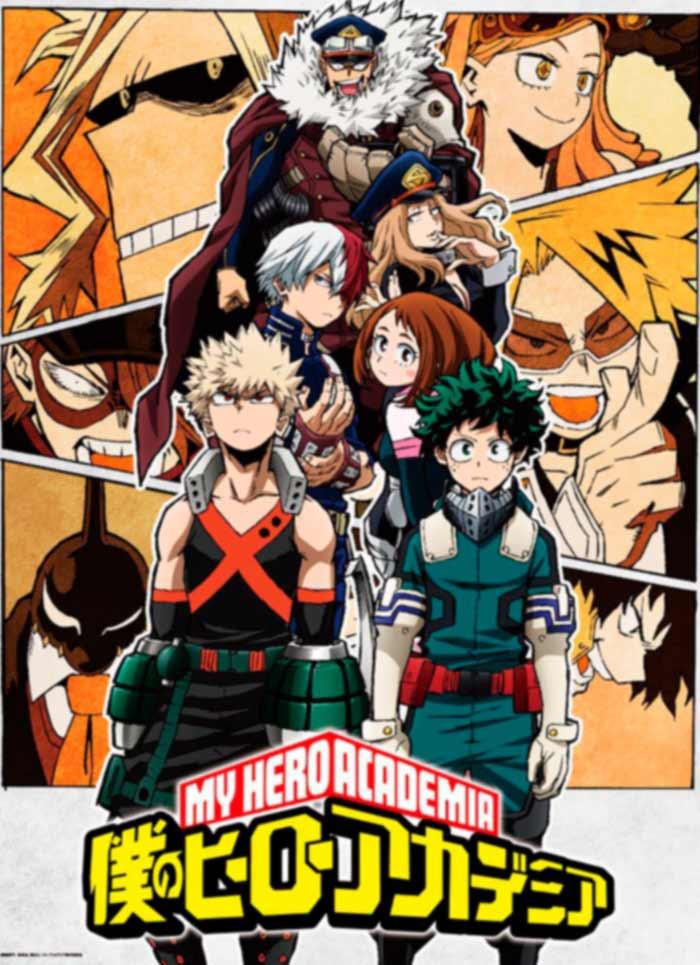 My Hero Academia (Boku no Hero Academia) anime