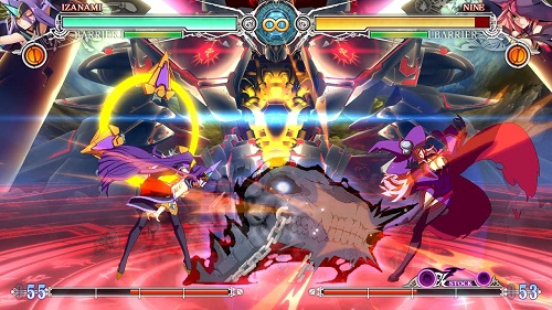 BlazBlue: Central Fiction Gameplay