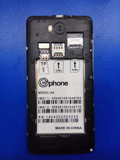 Gphone a8 firmware 100% tested without password