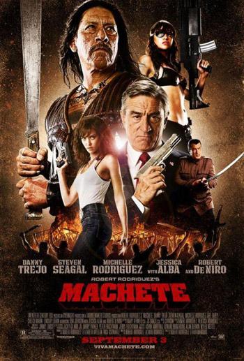 18+ Machete (2010) Movie [Dual Audio] [English+Hindi] 480P BluRay 400MB