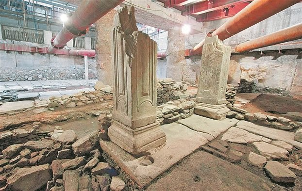 Metro works unearth 'second Pompeii'