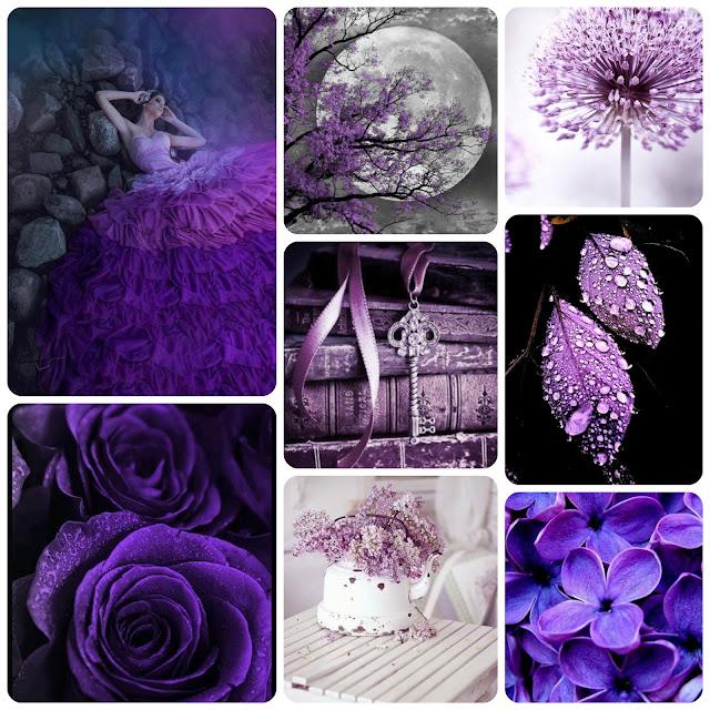 """""""Акцентирование цветом. Фиолетовый/сиреневый"""""""