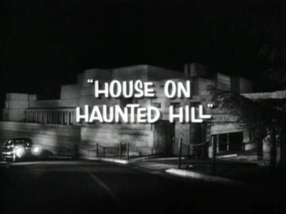 My reader 39 s block r i p screening iii house on haunted hill - House on the hill 2012 ...