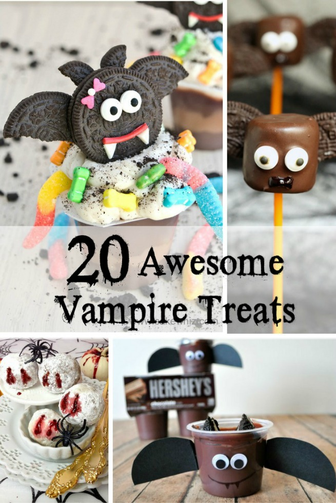 20 AWESOME Vampire Treats. Perfect for Halloween Parties