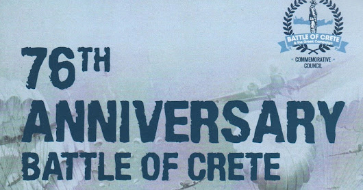 Out Now! - Battle of Crete and Greece 2017 Commemorative Program