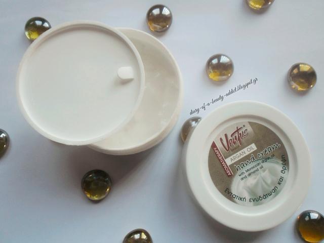 Ventus Hand Cream Argan Oil review