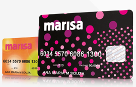 Pedir cartão de crédito marisa
