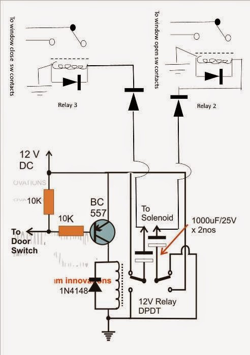 car door close optimizer circuit