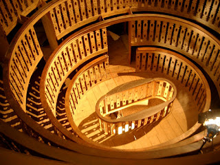 The anatomical theatre at the University of Padua