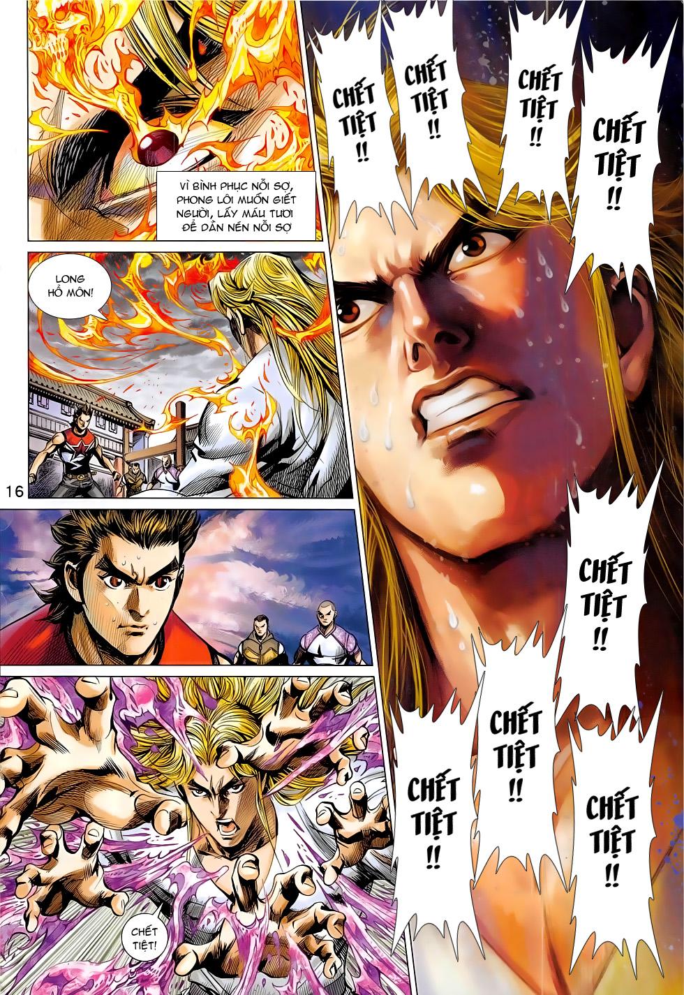 Đông Phương Chân Long chap 64 - Trang 16