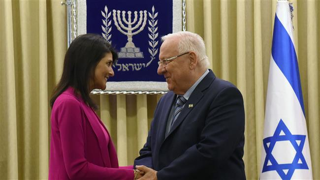 US Ambassador to the United Nations Nikki Haley vows to defend Israel in Jerusalem al-Quds