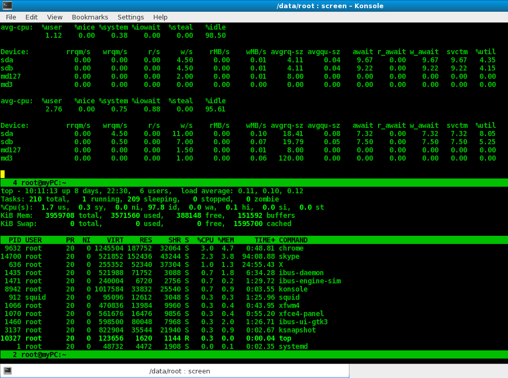 Tipstuff org: Resume ssh session with linux screen command