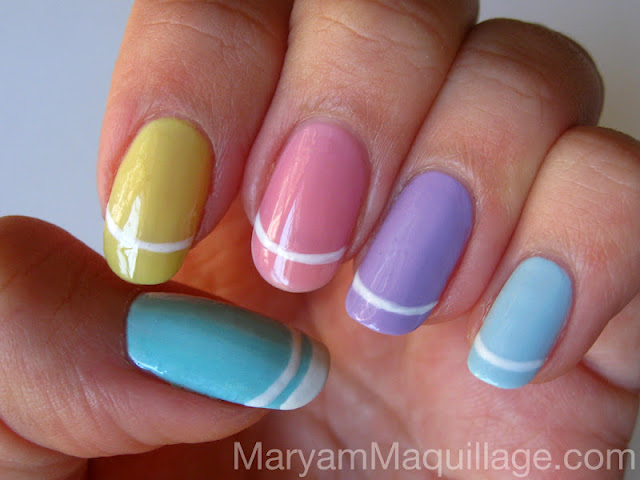 Maryam Maquillage: Nail Painting for Easter