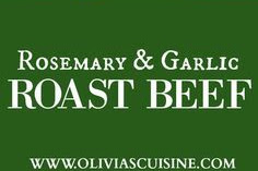 Rosemary and Garlic Roast Beef