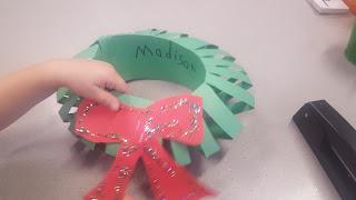 TeachMagically Christmas Craft Wreath