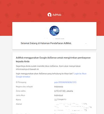 Cara Daftar Google Admob dari Google Adsense