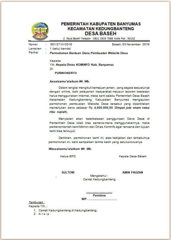 Contoh Proposal Pembuatan Website doc