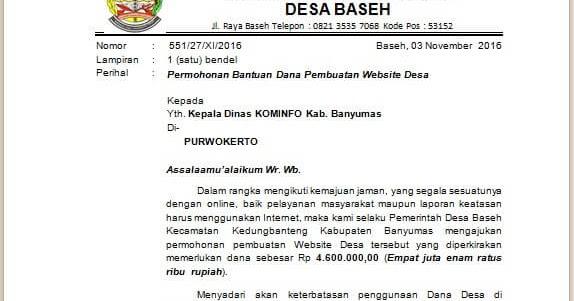 Informasi Wayang Golek Contoh Surat Penawaran Jasa Pembuatan Website Dan Toko Online