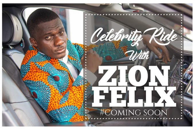 Upcoming on YouTube!  Blogger Zionfelix hosts 'Celebrity Ride With Zionfelix'