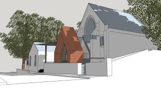 Lymm Methodist Church Sketch Extension