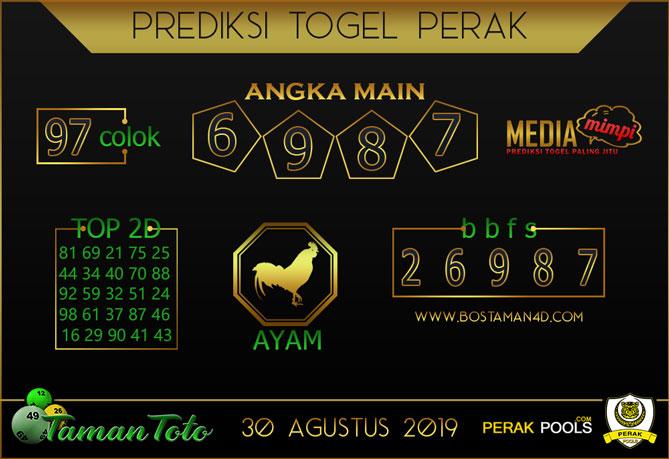 Prediksi Togel PERAK TAMAN TOTO 30 AGUSTUS 2019
