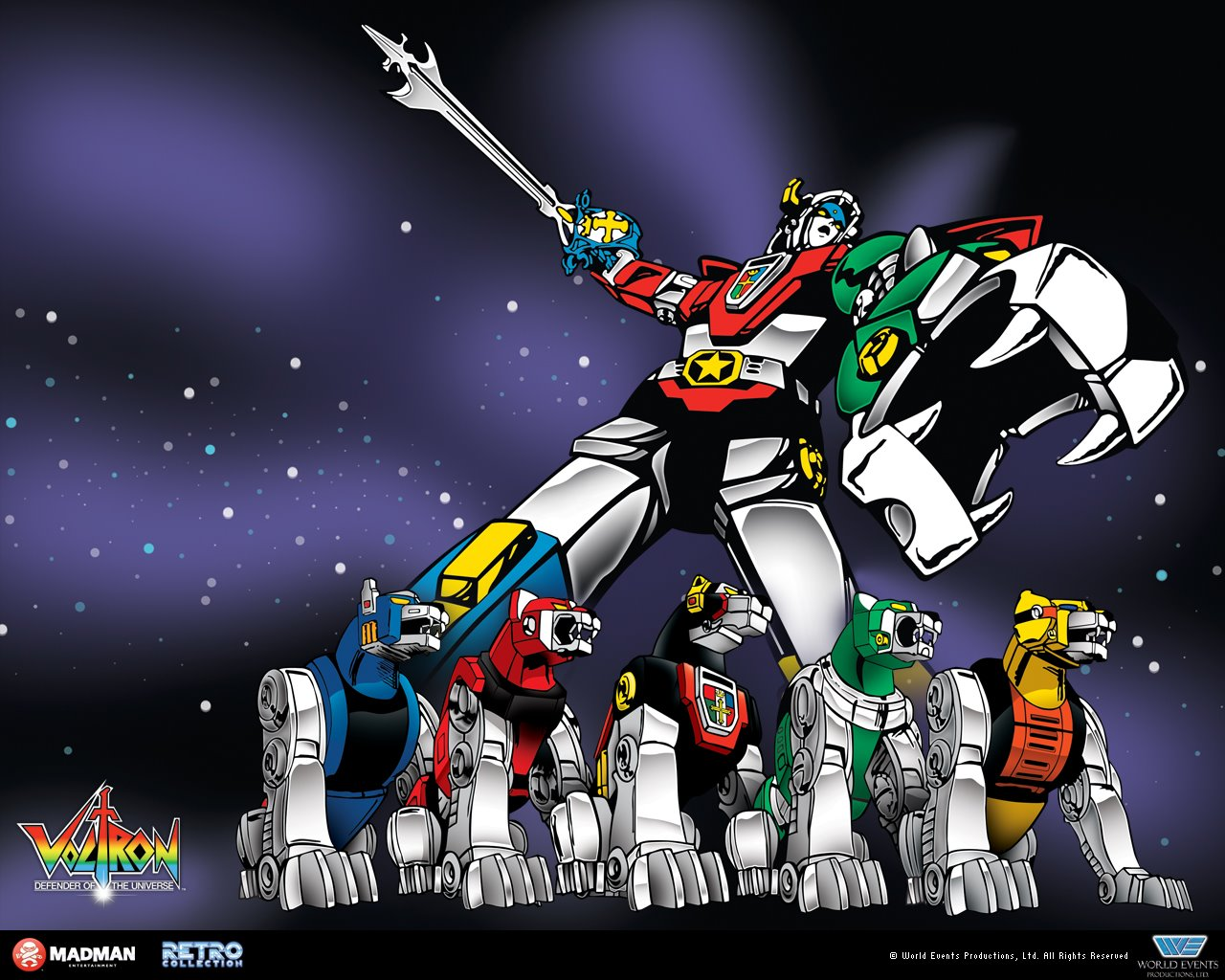 Angry Koala Gear: Voltron: Club Lion Force From Matty