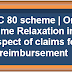 One Time Relaxation in respect of claims for reimbursement under LTC 80 scheme - CGDA Order dated 22.10.2018