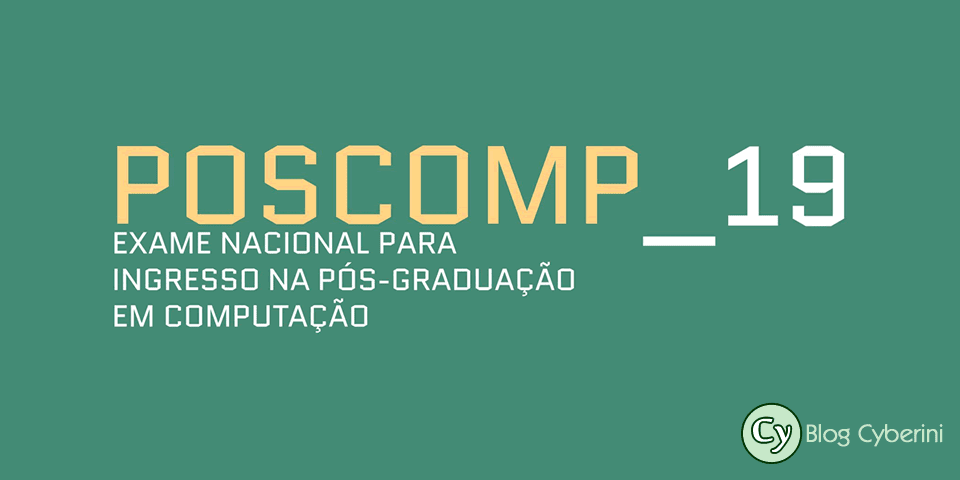 POSCOMP 2019 logotipo