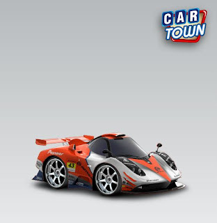 Pagani Zonda 760 RS 2012 Autobacs cartown skin template