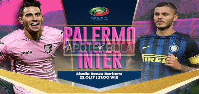 Prediksi Pertandingan Palermo vs Inter Milan 22 Januari 2017