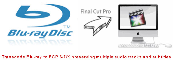 Rip Blu-ray to FCP X and retain the surround sound track