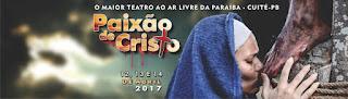 Encenação da Paixão de Cristo reúne mais de 300 atores em Cuité