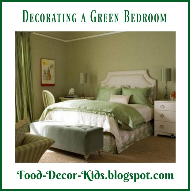 Food Decor Kids Decorating A Green Bedroom
