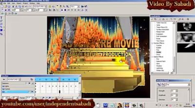 Cara Membuat Logo Animasi Video Dengan Ulead Cool 3D