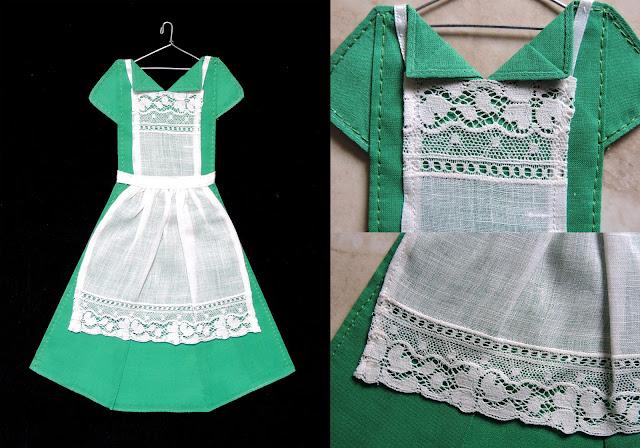 The Hanky Dress Lady