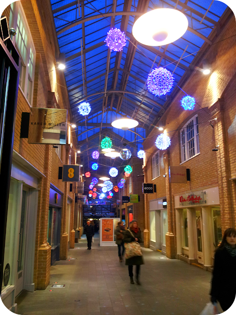 Canterbury, Christmas, christmas lights and shopping