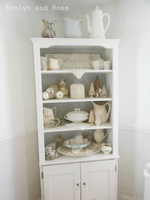 Shelf on wheels cabinet organizer