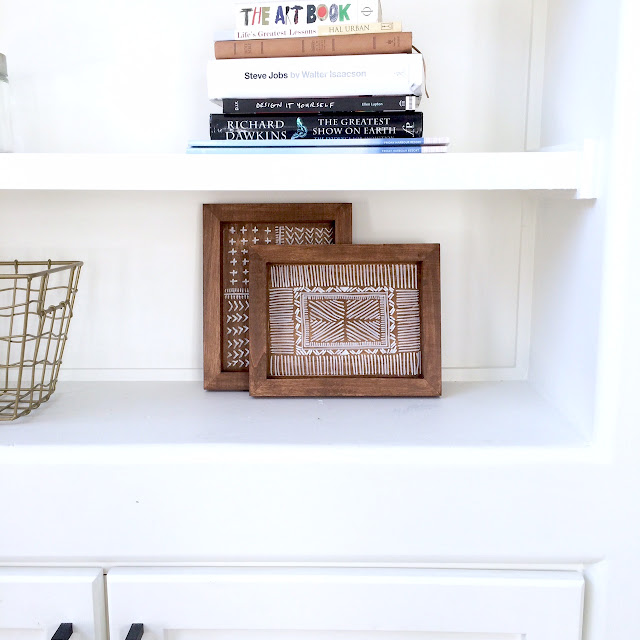 DIY Wooden Aztec Tray Anthropologie Hack - Harlow and Thistle - 2