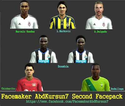 PES 2013 SECOND FACEPACK by AbdKursun7