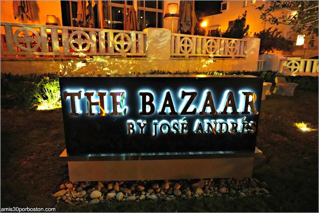 Entrada a The Bazaar By José Andrés en Miami Beach