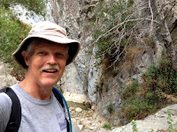 Dan Simpson at Fish Canyon Falls, Angeles National Forest