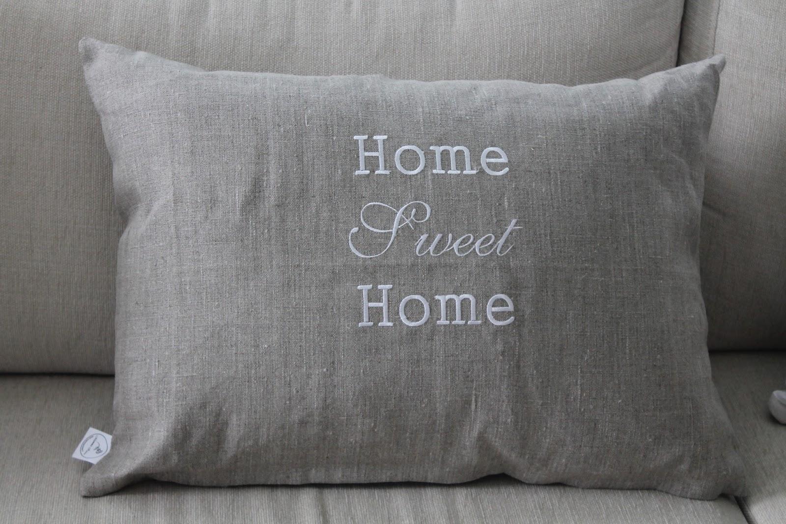 home tyyny Sarin kotona: Arvonnassa voitettu tyyny! home tyyny