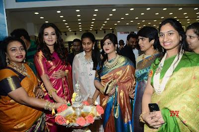 Catherine-Tresa-and-Vijay-Devarakonda-Launches-KLM-Fashion-Mall-Kukatpally