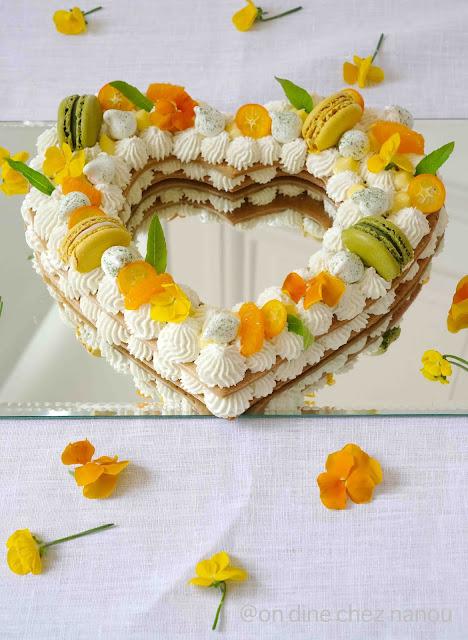 number cake , fêtes des mères , agrumes , mascarpone , fleur d'oranger , palais des thés